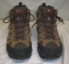 Merrell Moab Mid Waterproof Earth Mens Hiking Boot Size 13