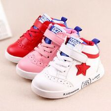 Baby Girls Shoes Loafers Pumps School Casual Hi Top Trainers Boots Infant Size