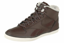 Reebok Classic High Top Women's Warm high Trainers Leather Shoes winter lined
