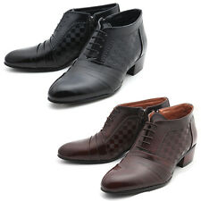 Mooda Mens Leather Oxfords Shoes Classic Formal Lace up Dress Shoes NewsenseL CA