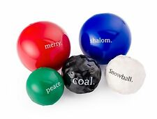 PLANET DOG ORBEE-TUFF HOLIDAY BALL Merry Peace Shalom Made USA Durable Dog Toy