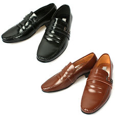 Mooda Mens Leather Loafer Shoes Casual Formal Lace up Dress Shoes MBO AU
