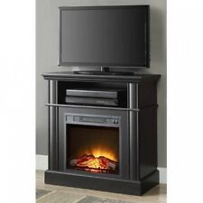 Electric Fireplace TV Stand Entertainment Center Media Console Insert Espresso