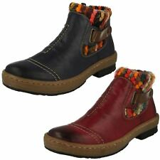 Ladies Rieker Casual Ankle Boots 'Z6784'