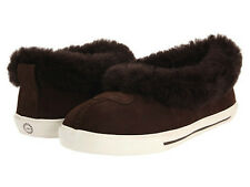 NIB UGG Australia YOUTH Chocolate Brown RYLAN Slippers 10, 11,  13