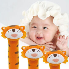 Developmental Animal Soft Stuffed Plush Toys Infant Baby Rattles Kids Sound Good