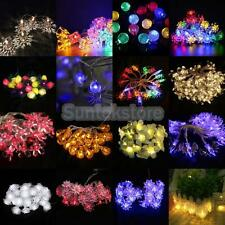 Assorted Shape LEDs Battery Operated String Lamp Fairy Lights Xmas Wedding Decor