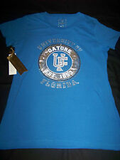 Campus Couture Women's University of Florida Gators Shirt NWT Bling
