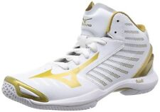 MIZUNO Basketball shoes WAVE REAL SUPERLIGHT W1GA1520 White X gold Unisex