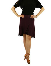 sts011pu (5 sizes) Purple New Women Latin Rhythm Salsa Tango Social Dance Skirt