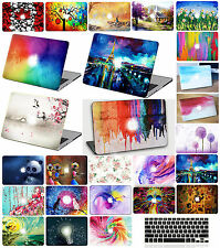 RUBBERIZED/PAINT Hard Laptop Case Cover for Macbook PRO /AIR 11 13 15 +Keyboard