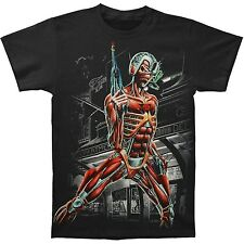 Licensed IRON MAIDEN Somewhere In Time Jumbo Print Eddie T-Shirt Black