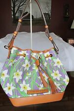 NWT - Dooney & Bourke Drawstring Bag with Wristlet