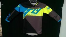 New Fly YOUTH Blue & Hi-Vis F-16 Jersey - Small Medium Large 369-928