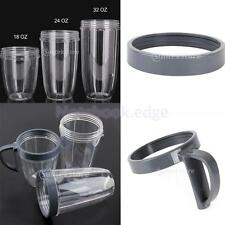 Magic Mug Juicer Cup For Nutri Bullet 18/24/32OZ with Extractor Cup Lip Ring