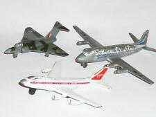 DINKY TOY 735 GLOSTER JAVELIN 706 VISCOUNT BOEING 747 AEROPLANE AIRCRAFT PLANE