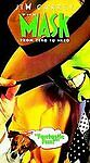 The Mask (VHS, 1995) Starring Jim Carrey, Rated PG-13, Comedy