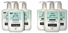 Neutrogena Ultra Gentle Cleanser...Daily Foaming OR Hydrating Creamy 12oz 3 Pack