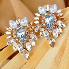 Lady Earrings Jewelry Women Crystal Rhinestone Girls Hot Ear Stud Elegant