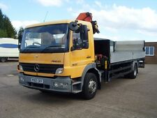 Mercedes Atego 16-22,2007, 16 tonne,Only 74000 kms,4x2 dropside truck with crane