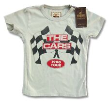 The Cars Trunk LTD Checkered Flags Kids Youth Child T Shirt NEW Band