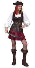 HIGH SEAS LADY BUCCANEER Adult Pirate Costume Renaissance Halloween S M L