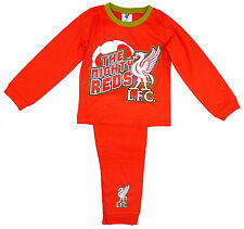 Boys Official Liverpool LFC Mighty Reds Toddler Pyjamas 12 Months - 4 Years NEW