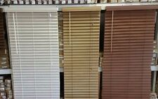 "2"" JCP Faux Wood Blinds NEW **FREE SHIPPING**!!"