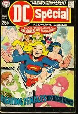 DC SPECIAL #3 ALL-GIRL GIANT ISSUE BLACKJ CANARY-1969 VG