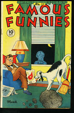 FAMOUS FUNNIES #128-BUCK ROGERS-SCORCHY SMITH VG/FN