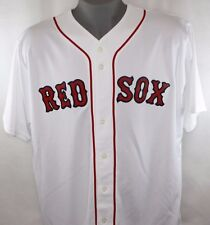 NEW Mens MAJESTIC Blank Boston RED SOX White Home MLB Stitched Baseball Jersey