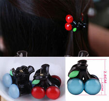 Lovely Bow Headdress Hair Accessories Hot New Hairpin Clips Cherry Girl Fashion