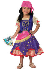 Deluxe Darling Gypsy Fortune Teller Circus Toddler Child Costume NEW