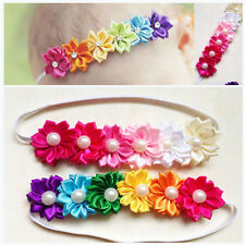 Cute Baby Girl Infant Toddler Colorful Headband Flower Bow Headwear Hair Band 1x