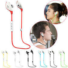 Wireless Bluetooth Stereo Headset Sports Headphone Earphone For Smart Phone NEW