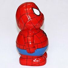 Just Contempo Kids Superhero Spiderman Money Box, Red