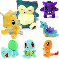 Pokemon Collectibles Plush Character Soft Toys Stuffed Squirtle Dolls Xmas Gifts