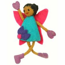 Fair Trade Hand Felted TOOTH FAIRY PILLOW Girl's Toy Keepsake Cultural GIft