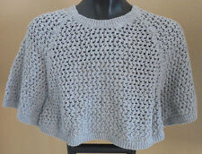 NEW Justice Girls Silver Gray Circle Sweater short sleeve shirt size 5 or 6 7