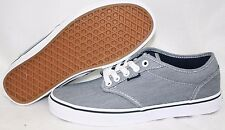 NEW Mens VANS Atwood Textile Mix Navy Blue White Classic retro Sneakers Shoes