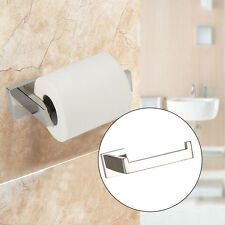 Stainless Steel Bathroom Toilet Paper Holder Roll Tissue Bar Box Wall Mounted