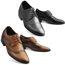 The Maling Mens Oxford Wingtip Shoes Classic Formal Lace up Dress Shoes Efron CA