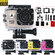 1080P HD Sports DV Helmet Cam Recorder Car Action Waterproof Camera Camcorder