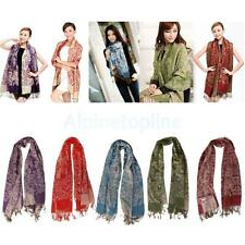 Winter Women Warm Soft PASHMINA Classic Cashmere Wool SHAWL Scarf Stole WRAP