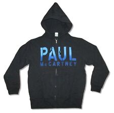 Paul McCartney Guitar Out There Black Zip Up Sweatshirt Hoodie New Official