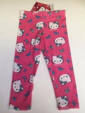 New Girls HELLO KITTY LEGGINGS in Pink - Various Sizes - BNWT