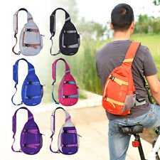 Multipurpose Outdoor Sport Single Shoulder Bag 8L Nylon Messenger Bag Sling Pack
