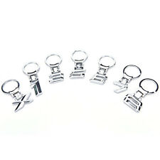 Metal car logo keychain key chain keyring key ring Llavero for BMW 1 3 5 6 7 8 E