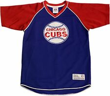 Chicago Cubs Youth Jersey T-Shirt V-Neck Stitched Baseball Logo 12794