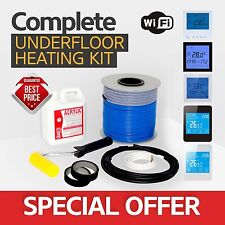 Electric underfloor heating loose cable kit 12.0-15.0m2